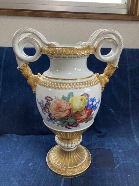 マイセン 花瓶