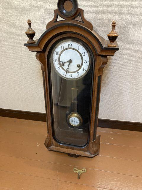 柱時計 精工舎 巴里